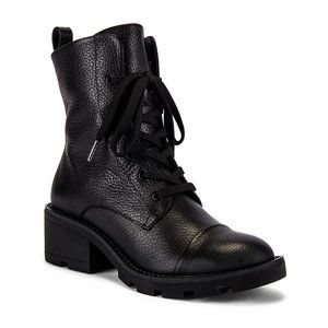 KENDALL + KYLIE Park Boot Black with Curb Chain 8